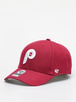 Czapka z daszkiem 47 Brand Philadelphia Phillies 47 Mvp ZD (cardinal)