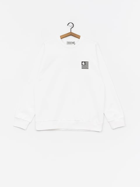 Bluza Carhartt WIP State Patch (white)