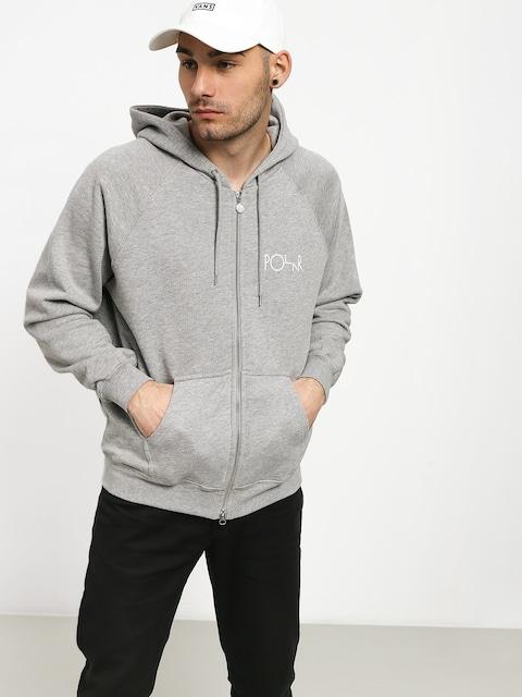 Bluza z kapturem Polar Skate Stroke Logo ZHD (heather grey)