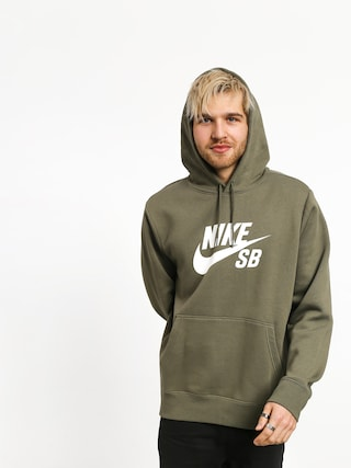 Bluza z kapturem Nike SB Sb Icon HD (medium olive/white)