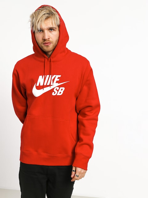 Bluza z kapturem Nike SB Sb Icon HD (university red/white)