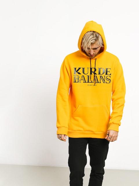 Bluza z kapturem El Polako Kurde Balans HD (yellow)