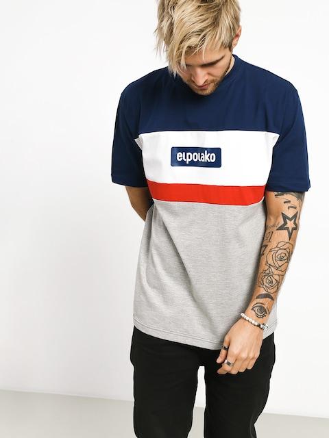 T-shirt El Polako 3 Ep Cut (navy)