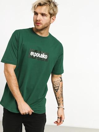 T-shirt El Polako Logobox (green)