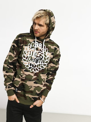 Bluza z kapturem MassDnm Base HD (woodland camo)