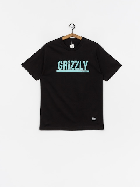T-shirt Grizzly Griptape Stamped (black)