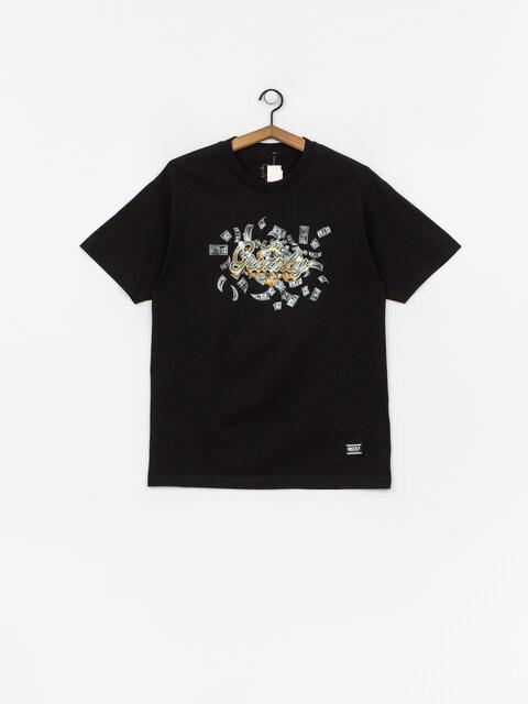 T-shirt Grizzly Griptape Ballin (black)