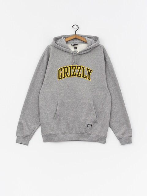 Bluza z kapturem Grizzly Griptape University HD (grey heather)