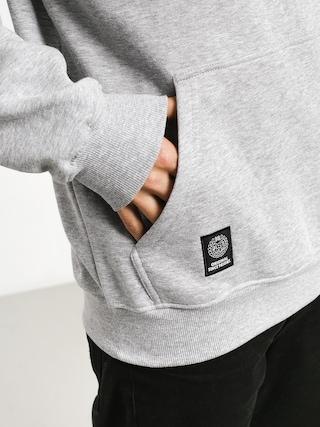 Bluza z kapturem MassDnm Signature Medium Logo HD (light heather grey)
