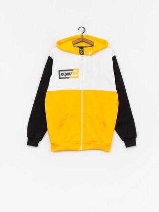 Bluza z kapturem El Polako Cut ZHD (yellow/white/black)