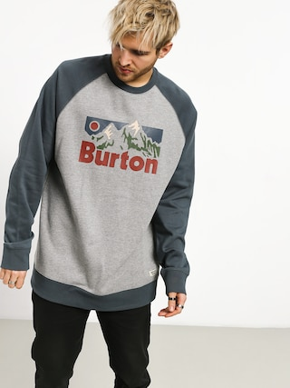 Bluza Burton Vista Crew (gray heather)