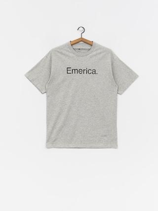 T-shirt Emerica Pure Logo (grey/heather)