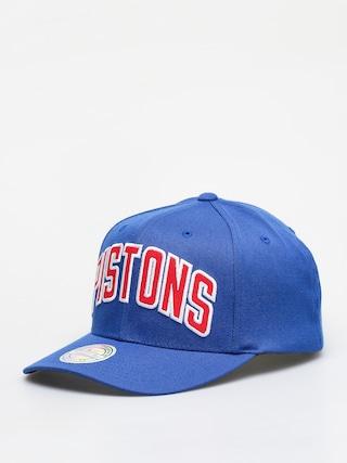 Czapka z daszkiem Mitchell & Ness Jersey Logo Detroit Pistons ZD (royal)