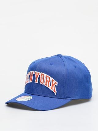 Czapka z daszkiem Mitchell & Ness Jersey Logo Ny Knicks ZD (royal)