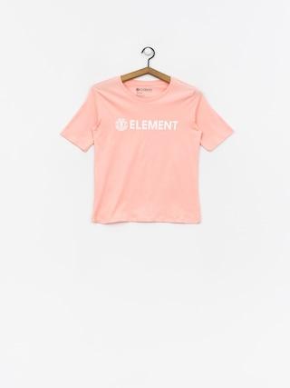 T-shirt Element Element Logo Cr Wmn (peach)