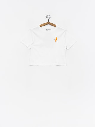 T-shirt Element Yawyd Crop Wmn (white)