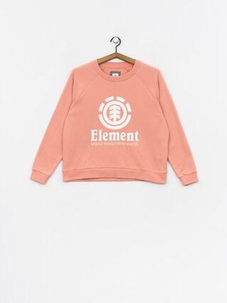 Bluza Element Verticalli Crew Wmn (peach)