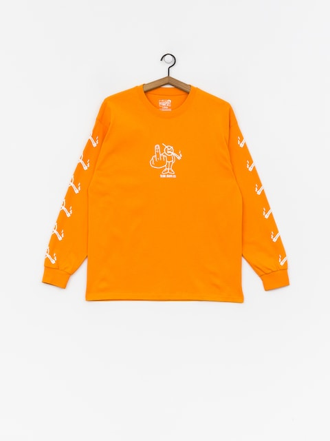 Longsleeve Polar Skate Angry Stoner (bright orange)