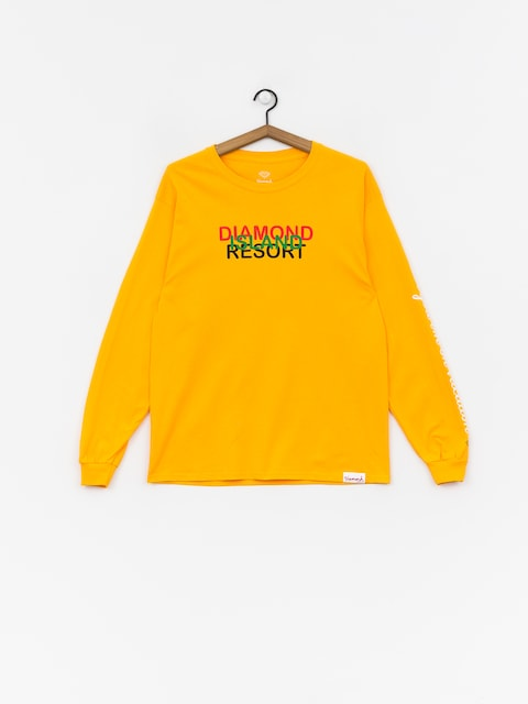 Longsleeve Diamond Supply Co. Diamond Resort (gold)