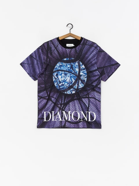 T-shirt Diamond Supply Co. Distorted Flower