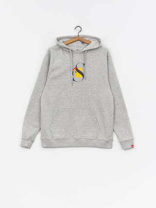 Bluza z kapturem Es Layers HD (grey/heather)