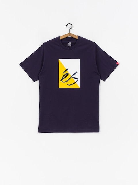 T-shirt Es Split Block (navy)