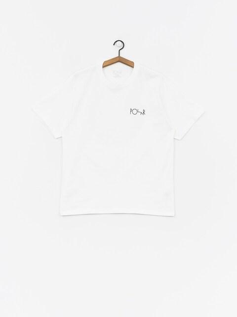 T-shirt Polar Skate 69 Fill Logo (white)