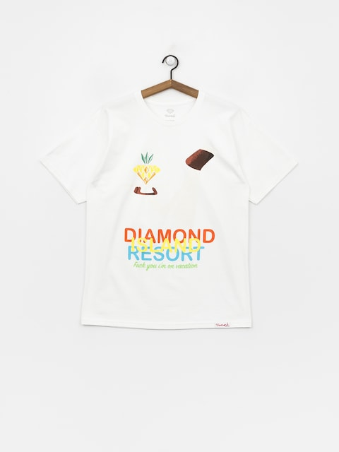 T-shirt Diamond Supply Co. Diamond Resort