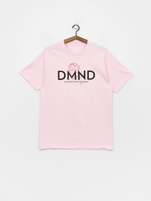 T-shirt Diamond Supply Co. Dmnd Amour (pink)