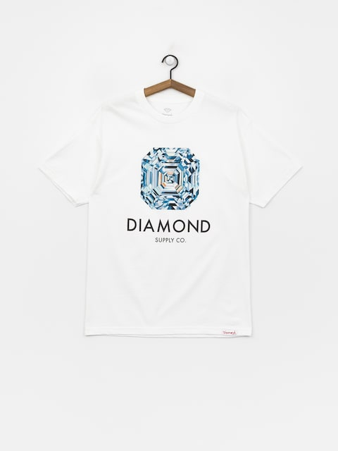 T-shirt Diamond Supply Co. Asscher Cut