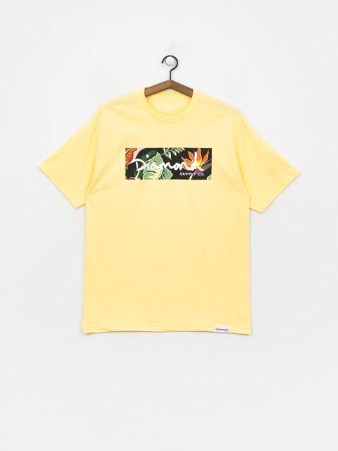T-shirt Diamond Supply Co. Paradise Box Logo (banana)