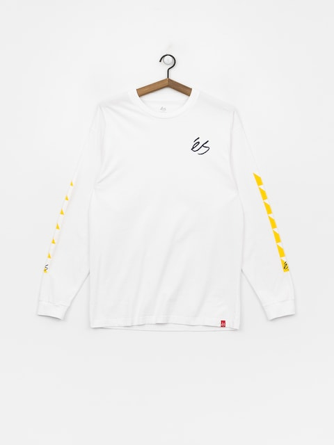 Longsleeve Es Split Block (white)