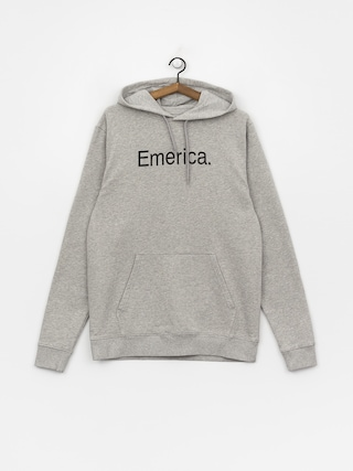 Bluza z kapturem Emerica Small Pure Logo HD (grey/heather)