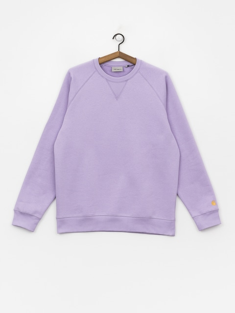 Bluza Carhartt WIP Chase (soft lavender/gold)