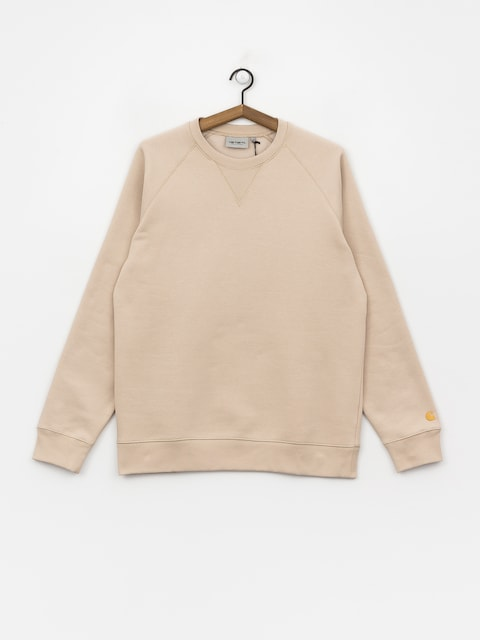 Bluza Carhartt WIP Chase (boulder/gold)