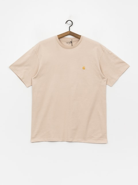 T-shirt Carhartt WIP Chase (boulder/gold)