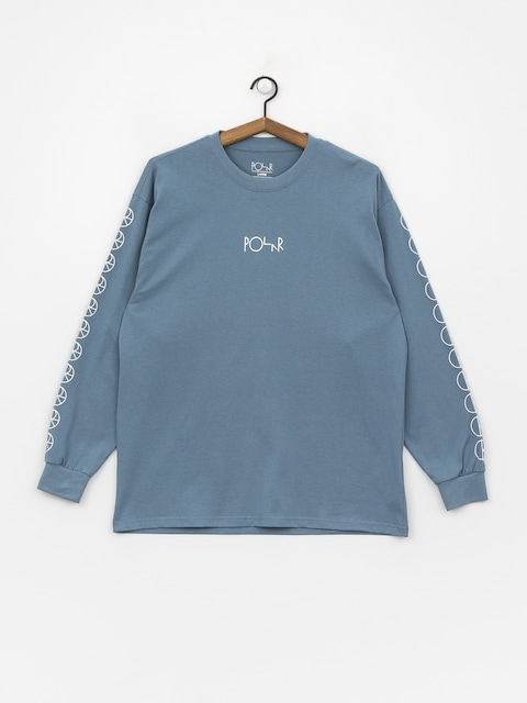 Longsleeve Polar Skate Racing (grey blue)