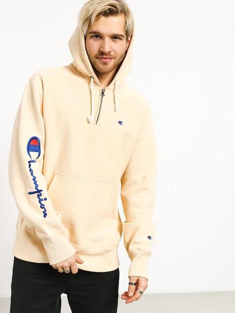 Bluza z kapturem Champion Reverse Weave Hooded Half Zip Sweatshirt ZHD (wet)