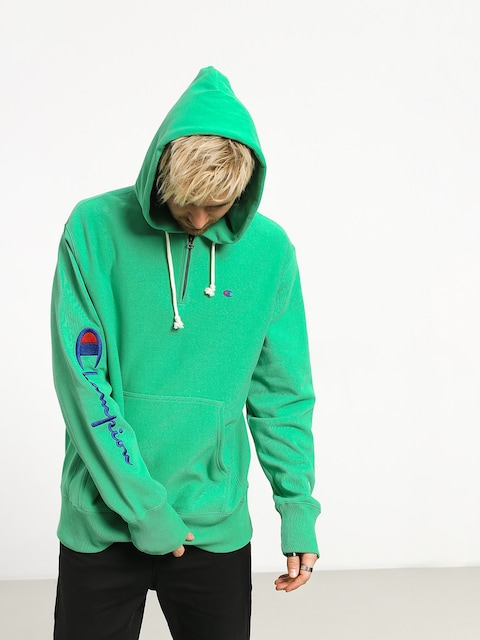 Bluza z kapturem Champion Hooded Half Zip Sweatshirt ZHD (mgn)