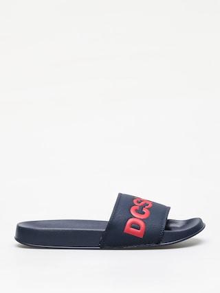 Klapki DC Slide (navy/red)
