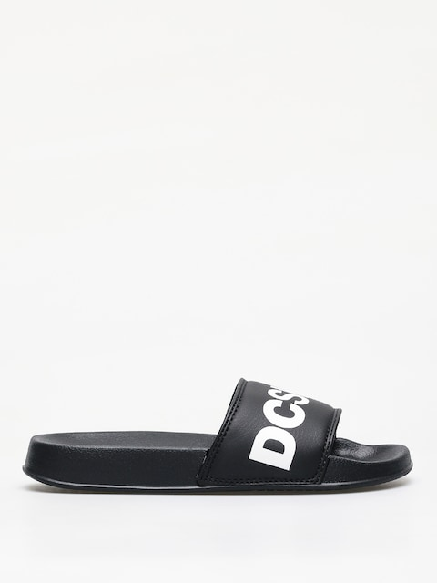Klapki DC Slide Wmn (black/white)
