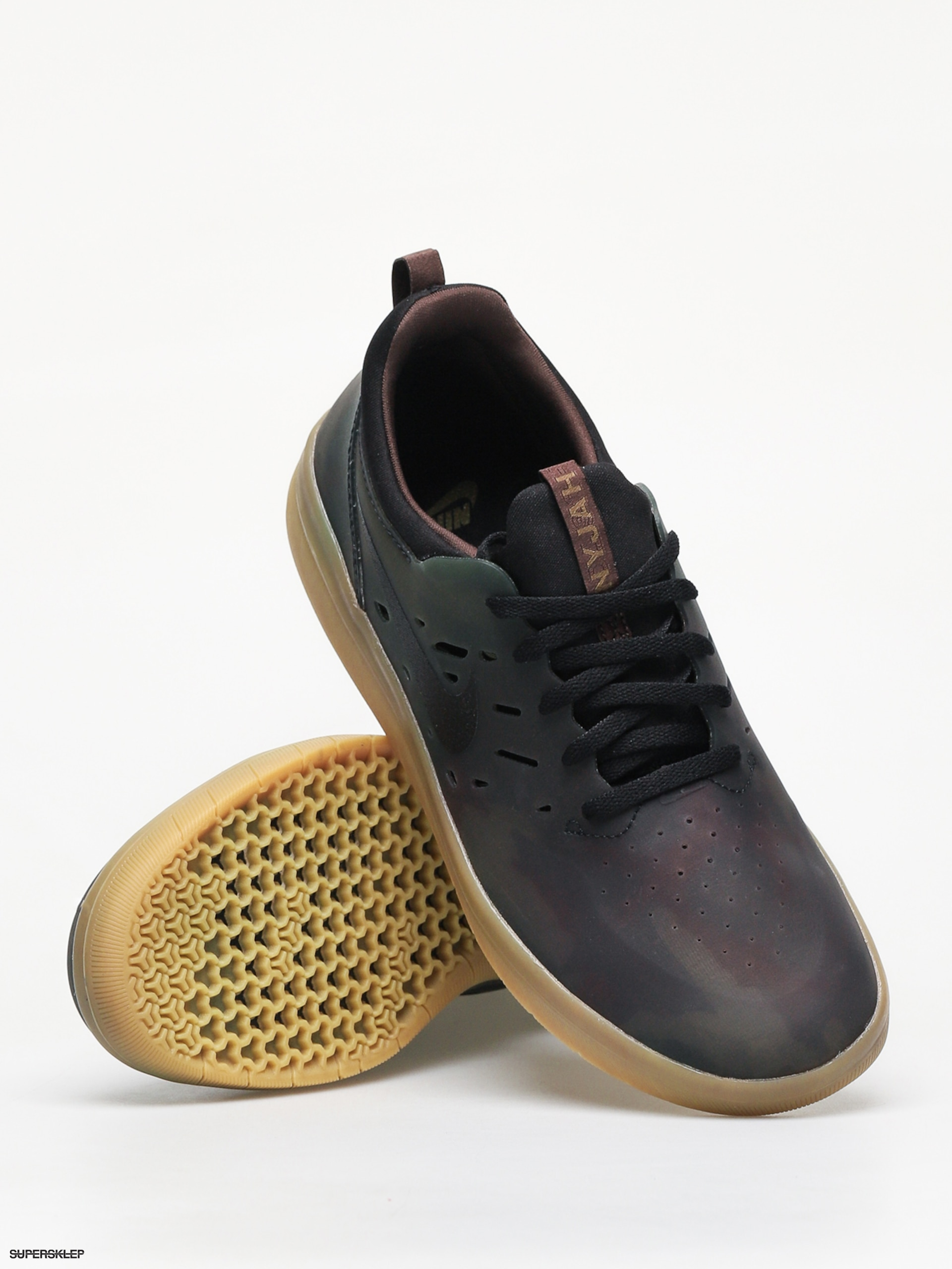 Buty Nike SB Nyjah Free (Black Black Gum Light Brown)