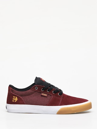 Buty Etnies Barge Ls (burgundy/tan/white)