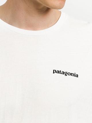 T-shirt Patagonia Logo Organic (white)