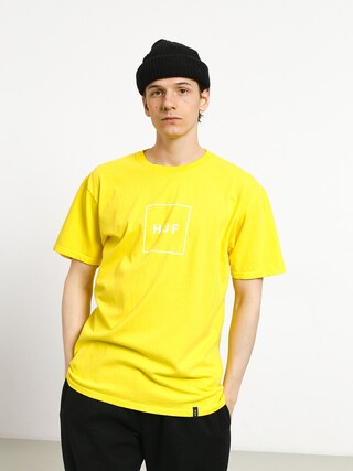 T-shirt HUF Essentials Box Logo (aurora yellow)