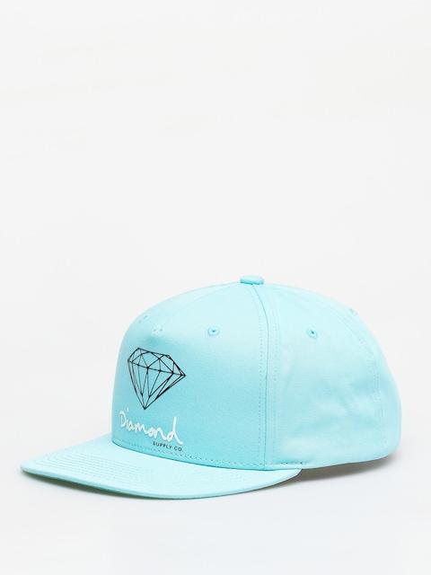 Czapka z daszkiem Diamond Supply Co. Og Sign Snapback ZD (diamond blue)