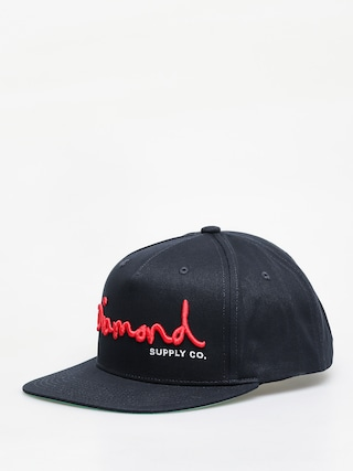 Czapka z daszkiem Diamond Supply Co. Og Script Snapback ZD (navy)