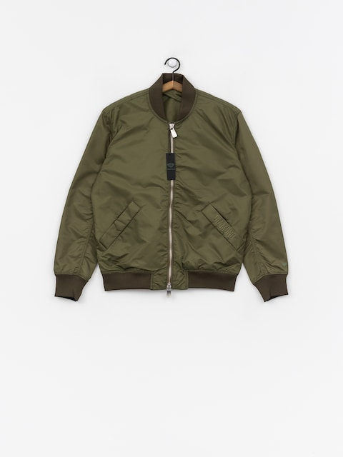 Kurtka Diamond Supply Co. Panelled Bomber (olive)