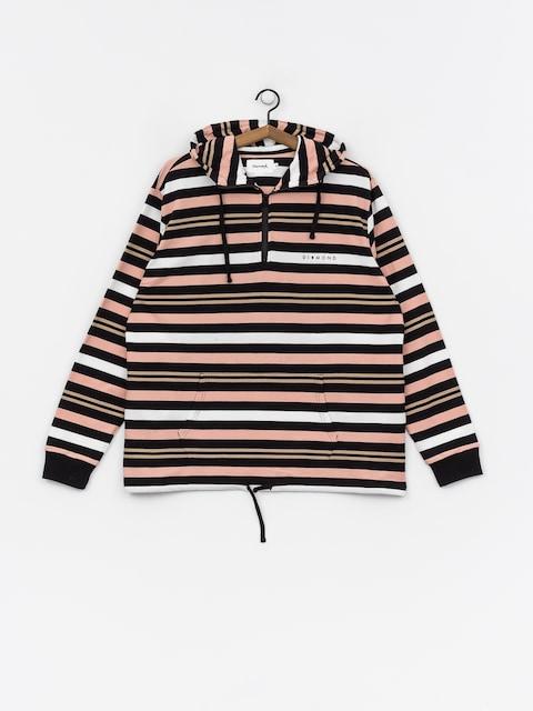 Bluza z kapturem Diamond Supply Co. Marquise Striped ZHD