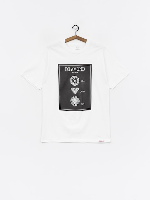 T-shirt Diamond Supply Co. Draft